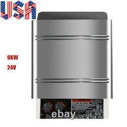 9KW 240V Sauna Heater Stove Dry Sauna Stove Internal Control Stainless Steel CE