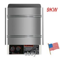 9KW 240V Sauna Heater Stove Dry Steam Sauna Machine+Internal Controller Home use