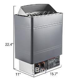 9KW Dry Steam Bath Sauna Heater Stove 220V 240V with Internal Controller