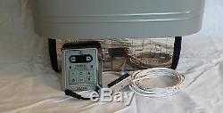 9KW LARGE ROCK CAPACITY WET or DRY SAUNA HEATER STOVE SLIM DIGITAL CONTROLLER