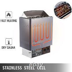 9KW Sauna Heater Stove Dry Sauna Heater Stove Internal Control Alluminum Alloy