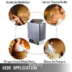 9KW Sauna Heater Stove Dry Sauna Stove Internal Control Aluminum Alloy Case