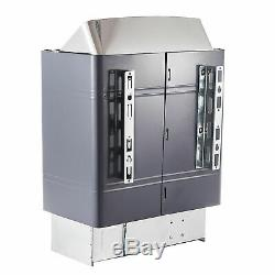 9KW Sauna Heater Stove Wet & Dry Stainless Steel Internal Control 220V SPA US