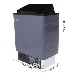 9KW Sauna Heater Stove for Home SPA Sauna House Stainless Steel with Controller