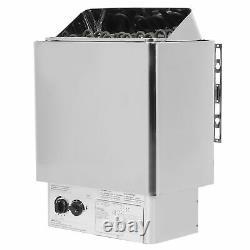 9KW Stainless Steel Sauna Stove Heater Steaming Room Bathroom SPA Household