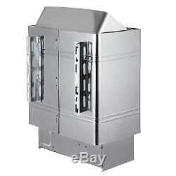 9KW Wet&Dry Sauna Heater Stove External Control Easy Operation Wall-mount