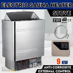 9KW Wet&Dry Sauna Heater Stove External Control Home Commercial High Efficient