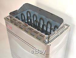 9kw Stainless Steel Turku Wet&dry Sauna Heater Stove External Digital Controller