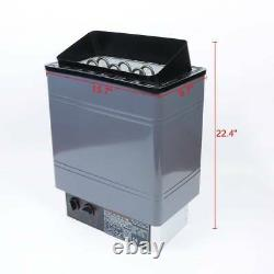 ASG Electric Sauna Heater Stove Spa 6KW 8KW 9KW External Control Aluminum Panel