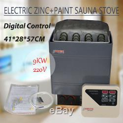 Amazon Firmer Structure Wet&dry Sauna Heater Stove Outer Digital 9kw Controller