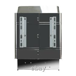 CE 6KW 240V Sauna Heater Stove Dry Steam Bath Sauna Machine Internal Control US