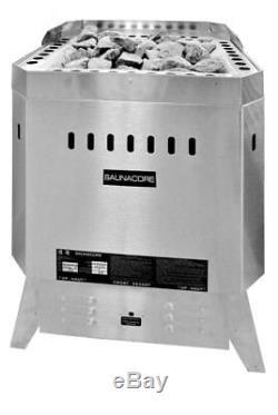 Commercial Sauna Heater 12 Kw Floor Mount Sauna Stove
