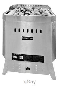 Commercial Sauna Heater 9 Kw Floor Mount Sauna Stove