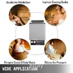 Electric Sauna Heater 2-9kW Stove Controller Dry Steam Bath 110V-120V Shower