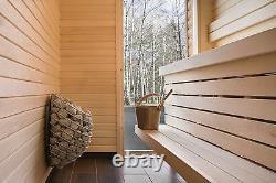 Electric Sauna Heater + Control Console Uku, Design Sauna Stove 4,5kW