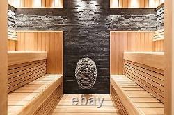 Electric Sauna Heater Stove Huum Drop (4,5-9kW), Design Sauna Stove WET/DRY