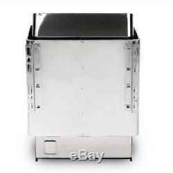 Electric Sauna Heater Stove with Outer Controller Deep Rock Tray 6KW 220V