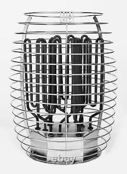 Electric Sauna Heater and Controller by HUUM, Scandinavian Design Sauna Stove