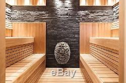 Electric Steam Sauna Heater Huum Drop, Design Sauna Stove 4,5-9 kW WET/DRY