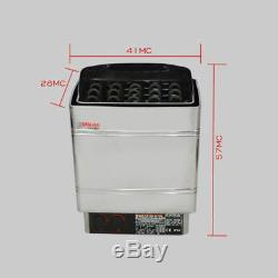 External Control HQ Stainless Steel 220V 6KW Electric Wet&Dry Sauna Heater Stove