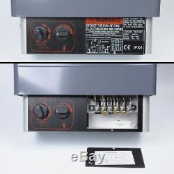 GLF Sauna Heater Stove Wet / Dry Spa 6KW 8KW 9KW Internal Control Aluminum Panel