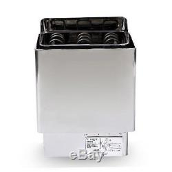 Home Sauna 110V 6KW Dry Sauna Stove Heater Tool Temperature Controller Spa US