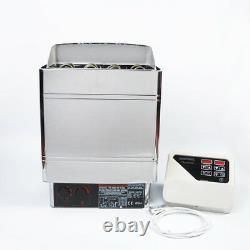 NZL Sauna Heater Stove 6KW 8KW 9KW Wet & Dry Stainless Steel Bult-in Controller