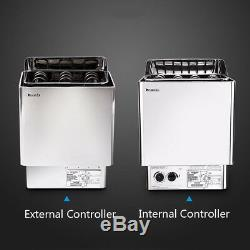 New 39KW Sauna Heater Sauna Stove Wet Dry Internal External Digital Controller