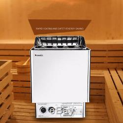New 39KW Sauna Heater Sauna Stove Wet Dry Internal External Digital Controller