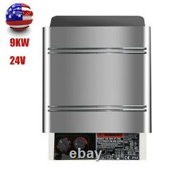 New Sauna Heater Stove Dry Stove Stainless Steel 9KW 240V Internal Control CE