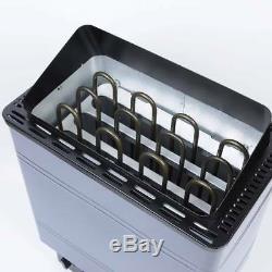 PP Electric Sauna Heater Stove Spa 6KW 8KW 9KW External Control Aluminum Panel