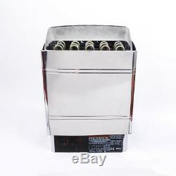 PP Sauna Heater Stove 6KW 8KW 9KW Wet & Dry Stainless Steel Bult-in Controller