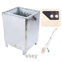Phase Steam Generator External Control Stainless Steel Stove Heater Sauna Tool