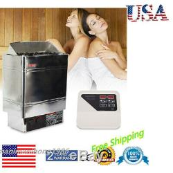 Residential 6KW Dry SPA Sauna Heater Stove External Controller 220V Only 14KG