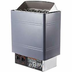 Sauna Heater 9KW Dry Steam Bath Stove 220V-240V Internal Controller Electric For