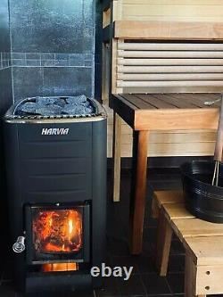 Sauna Heater Harvia M2 16.5 kW Finnish woodburning stove for rooms 6 13 m3