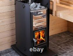 Sauna Heater Harvia M3 16.5 kW Finnish woodburning stove for rooms 6 13 m3