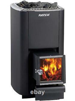 Sauna Heater Harvia M3 SL 16.5 kW Finnish woodburning stove for rooms 6 13 m3