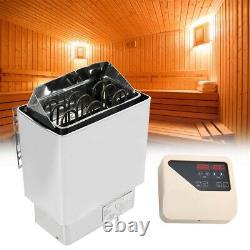 Sauna Heater Stove Sauna Rocks Stainless Steel Internal Control Home SPA 4.5KW