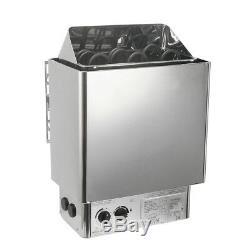 Sauna Heater Stove Wet&Dry Bath Shower SPA Stainless Steel Internal Control