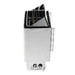 Sauna Heater Stove Wet&Dry Stainless Steel Internal Control Firmer Digital US