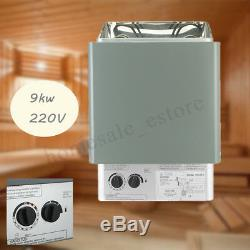 Sauna Heater Stove Wet&Dry Stainless Steel Internal Control Home SPA 39KW