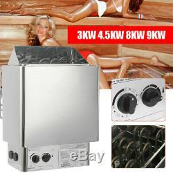 Sauna Heater Stove Wet Dry Stainless Steel Internal Control Steam Machines 3KW