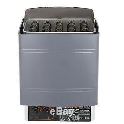 Sauna Heater Stove Wet&Dry Stainless Steel Internal External Digital Control US
