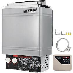 Sauna Stove 9KW Dry Sauna Heater Stove With External Control Stainless Steel