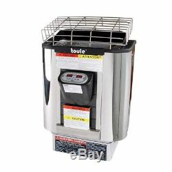 TOULE 3KW ETL Wet Dry Heater Stove for Spa Sauna Room with Digital Controller