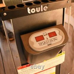 TOULE Wet Dry Heater Stove 4.5 KW ETL for Spa Sauna Room with Digital Controller