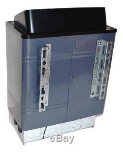 TURKU 6KW 240V WET or DRY ELECTRIC SAUNA HEATER STOVE EXTERNAL CONTROL + BONUS