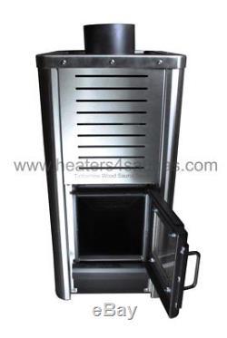Timberline Wood Sauna Stove Stainlesss Steel Sauna Heater Heats 650 Cubic F