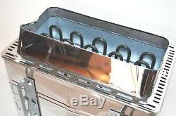 Turku 9kw 240v Stainless Steel Electric Sauna Heater Stove Digital Control Bonus